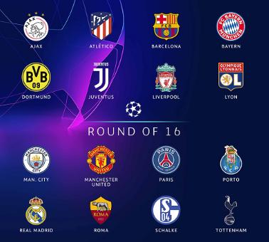 Berikut Jadwal 16 Besar Liga Champions 2018/19